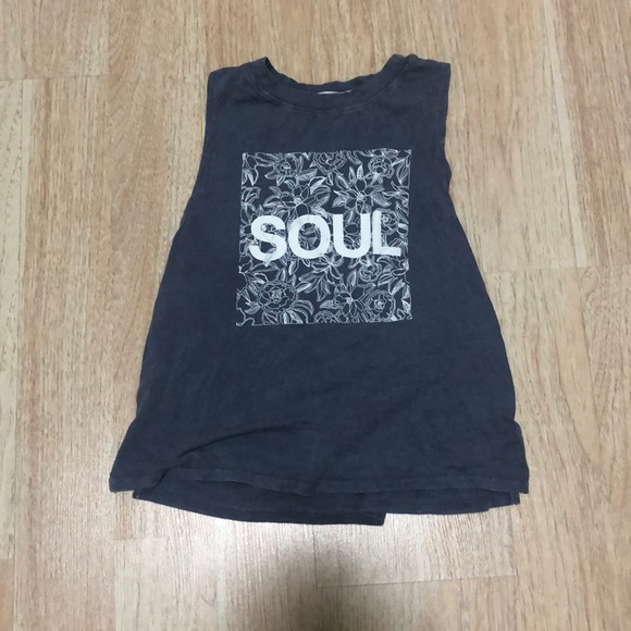 soulcycle Tops - Soulcycle Gray t shirt
